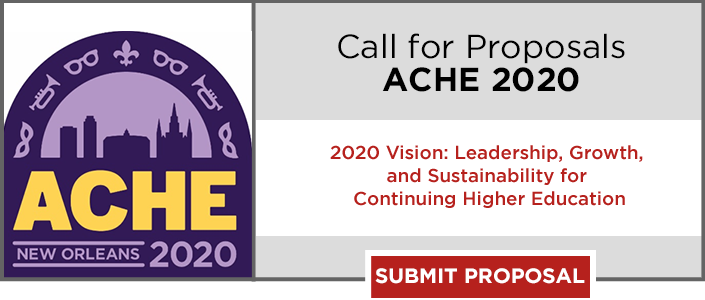 Register now for the 81st annual ACHE conference.