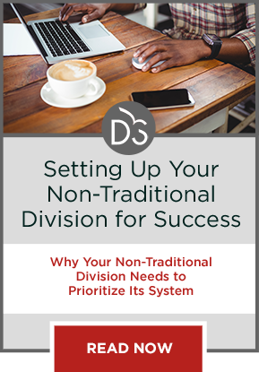 Why your non-traditional division needs it's own software