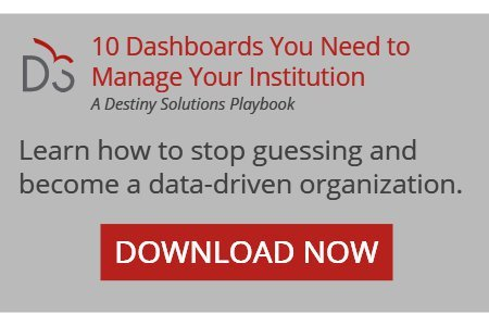 Learn how the right dashboards can help you leverage data to overcome roadblocks and give insight into your higher education program
