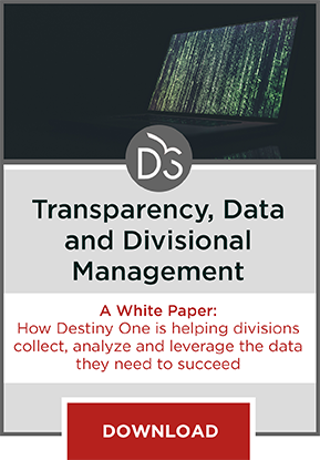 A White Paper download on how Destiny One helps divisions better capture and use data