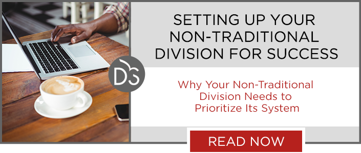 Your non-traditional division can accomplish more with the right software