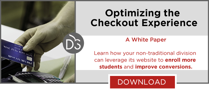 Improve student experience with eCommerce best practices