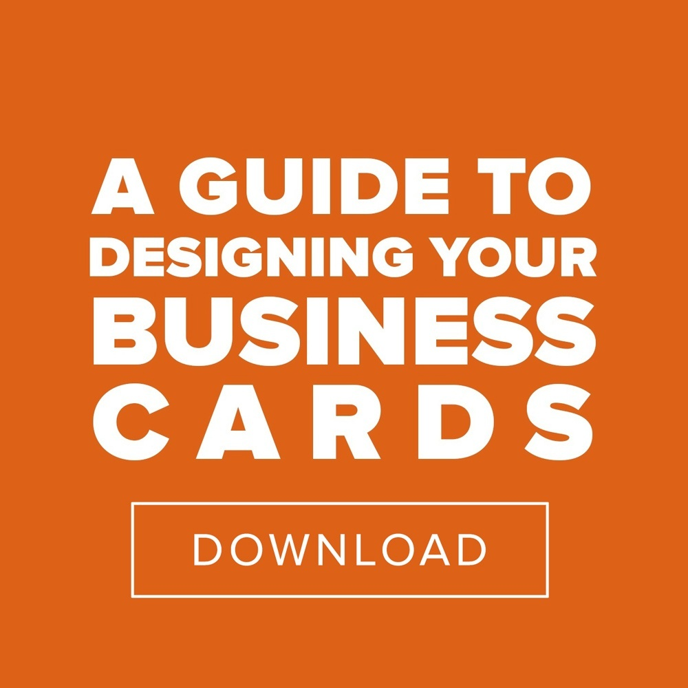 Designing Your Business Cards