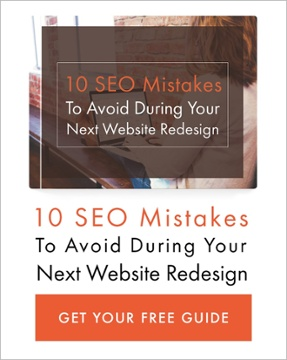 Free E-book 10 SEO mistakes to avoid when redesigning your website JCI Marketing Redding