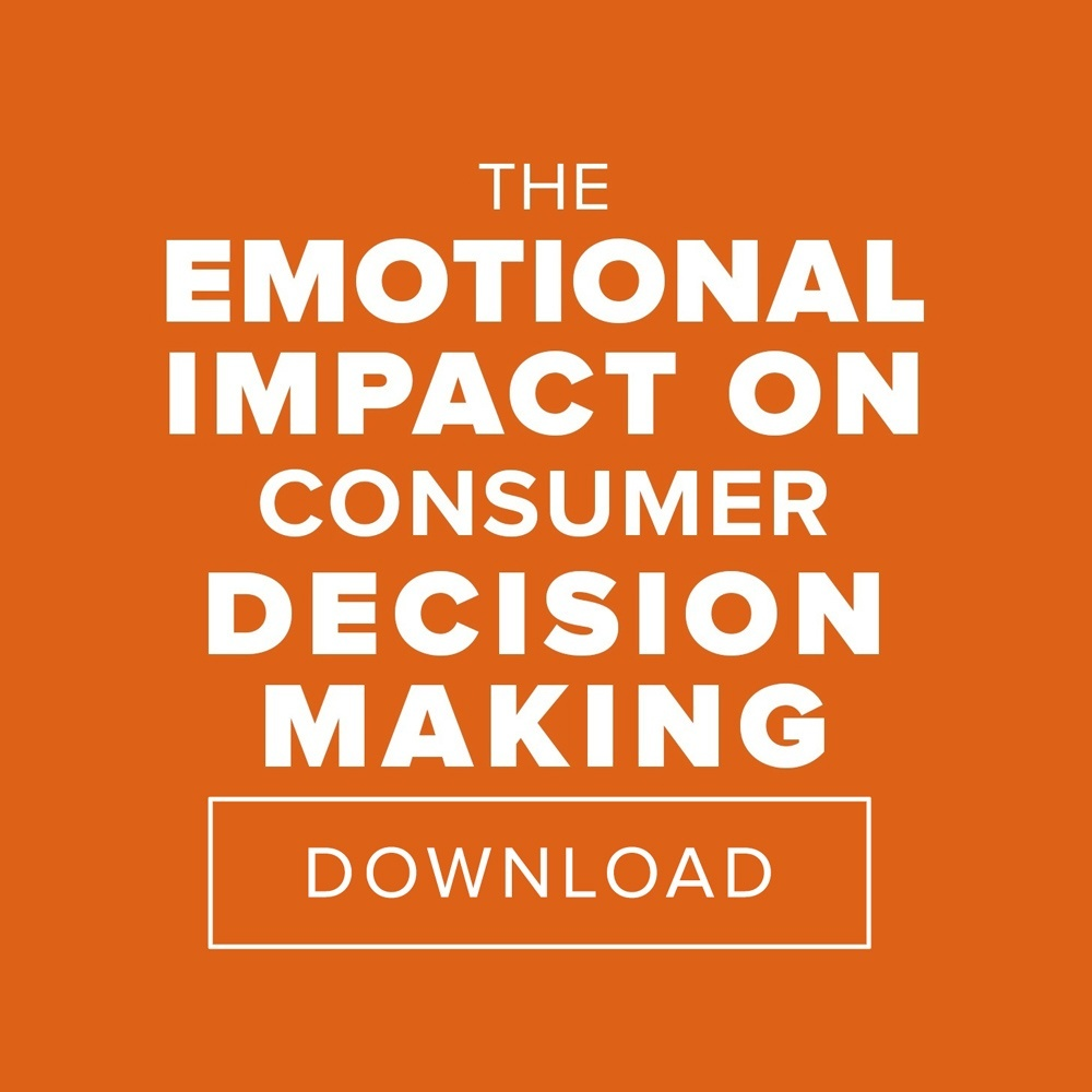 The Emotional Impact On Consumer Decision Making Free eBook