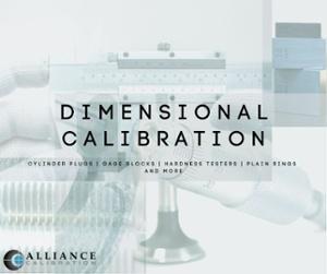 dimensional calibration_alliance calibration
