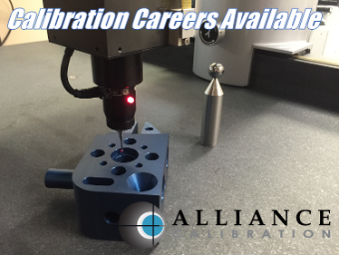 Career Opportunities at Alliance calibration