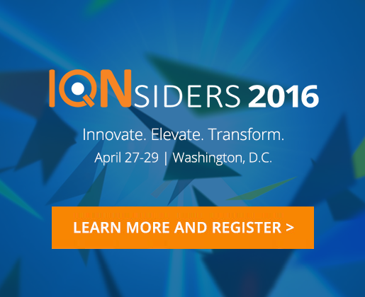 Reigster for IQNsiders 2016
