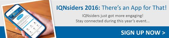 IQNsiders 2016 | Event App