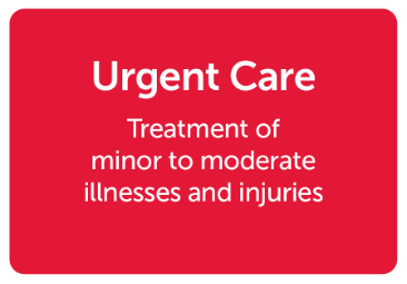 Velocity Care Urgent Treatment Center's easily handle and care for minor and moderate injuries.