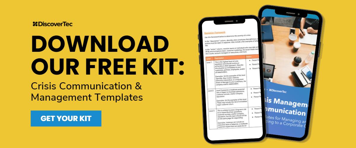 Download Our Crisis Communication & Management Kit