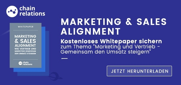 Marketing und Sales Alignment Whitepaper herunterladen