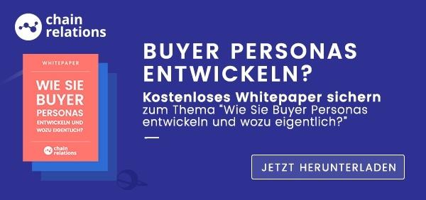 Buyer Personas entwickeln und Whitepaper herunterladen