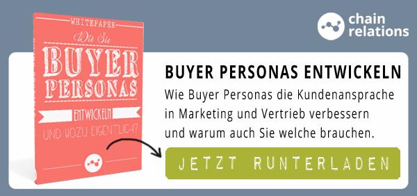 Buyer Personas entwickeln für Marketing und Vertrieb