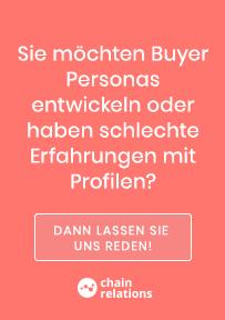 Buyer Persona entwickeln