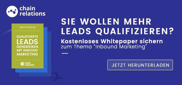 Inbound Marketing Whitepaper herunterladen und mehr über Lead Scoring erfahren