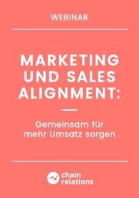 Marketing und Sales Alignment: Gemeinsam für mehr Umsatz sorgen