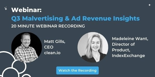 Q3 Malvertising and Ad Revenue Insights
