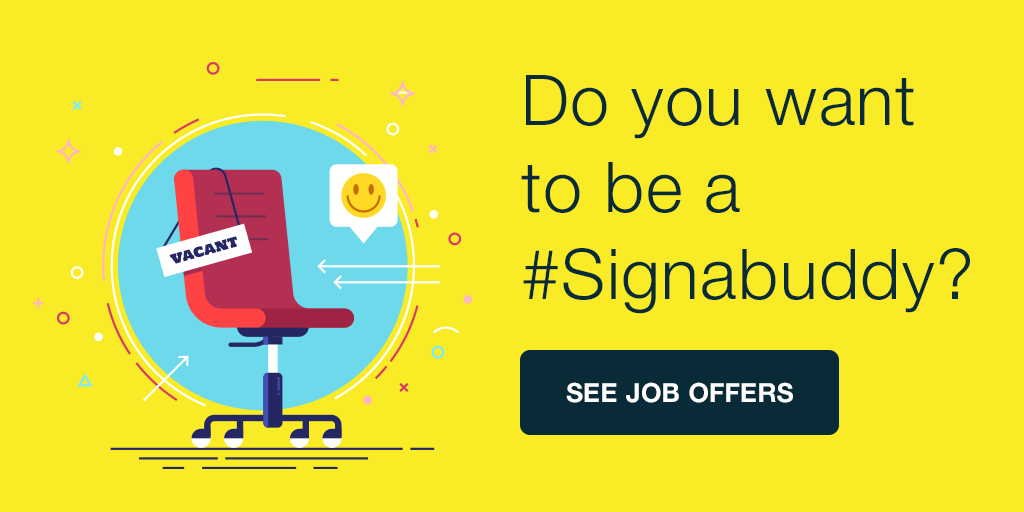 Join Signaturit's Team! #Signabuddy