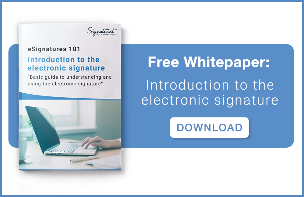Download Whitepaper eSignatures 101 (English)