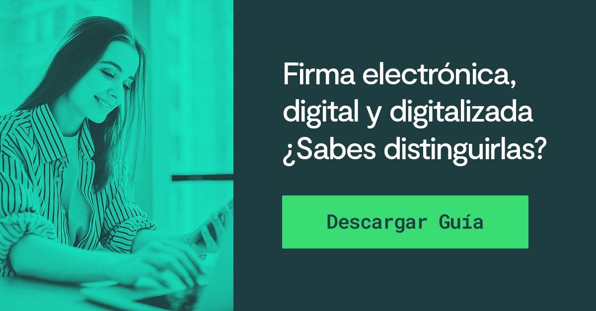 En qué se diferencian la firma electrónica, la firma digital y la ...