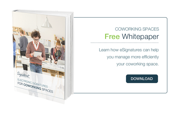 Download Whitepaper eSignatures for COWORKING spaces