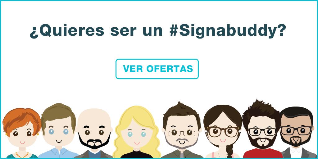 ¿Quieres ser un Signabuddy? ¡Únete al equipo Signaturit!