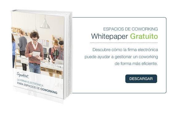 Whitepaper La firma electrónica para espacios de COWORKING