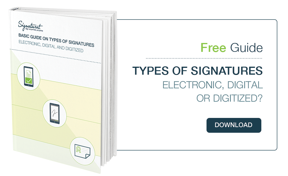 Basic Guide on Types of Signatures