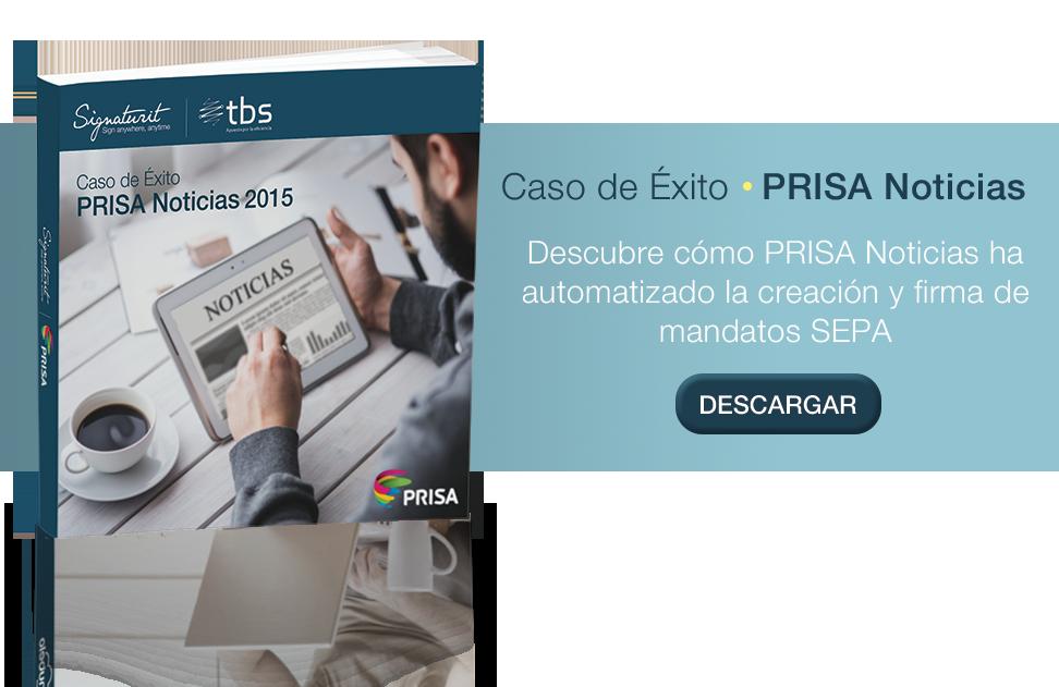 Cómo PRISA Noticias ha automatizado la gestión y firma de mandatos SEPA
