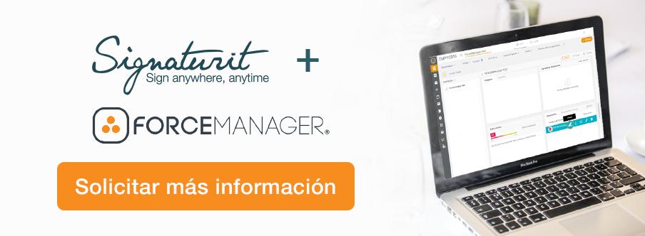 Integración Signaturit Forcemanager