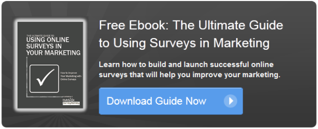 using surveys in marketing ebook