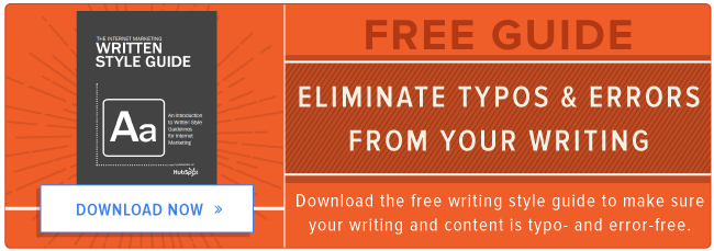 free writing style guide