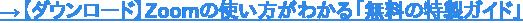 →ダウンロード: Zoomの使い方無料ガイド