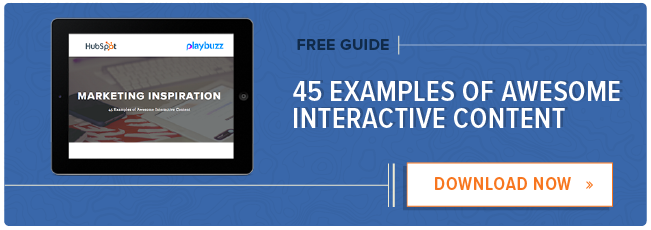 45 Engaging Examples of Interactive Storytelling in Content Marketing