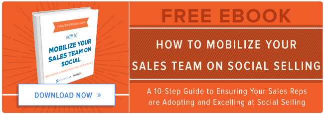 learn how to mobilize your sales team on social selling