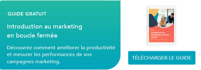 Introduction au marketing en boucle fermée