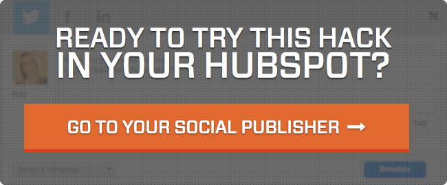Go to your social publisher!