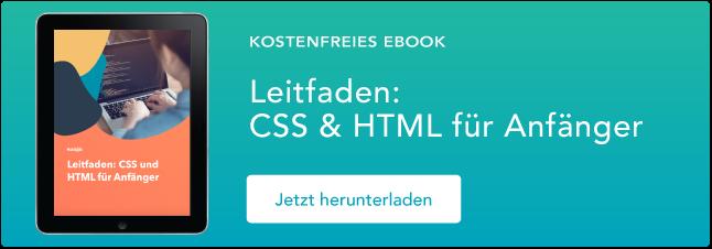 css html für anfänger