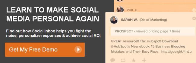 get a free social inbox demo