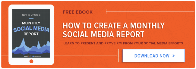 How to create a monthly social media report free ebook free social media reporting guide pronofoot35fo Gallery
