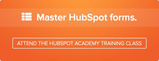 master forms free hubspot academy class
