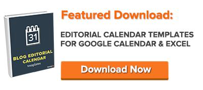 download free editorial calendar templates