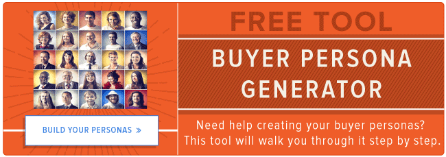 free buyer persona generator