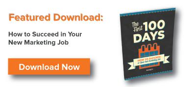 Descarga gratuita Cómo alcanzar el éxito en tu nuevo empleo de marketing