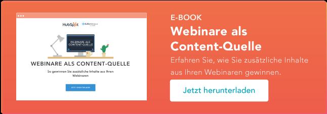 Webinare als Content-Quelle | zum E-Book