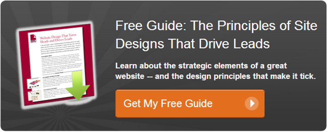 get your free website design guide