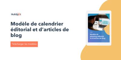 Gagnez du temps en utilisant un calendrier de publication grâce à ce modèle gratuit