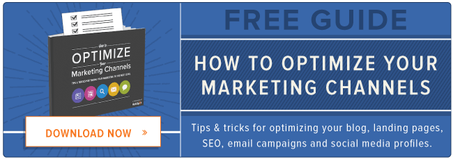 optimize marketing channels