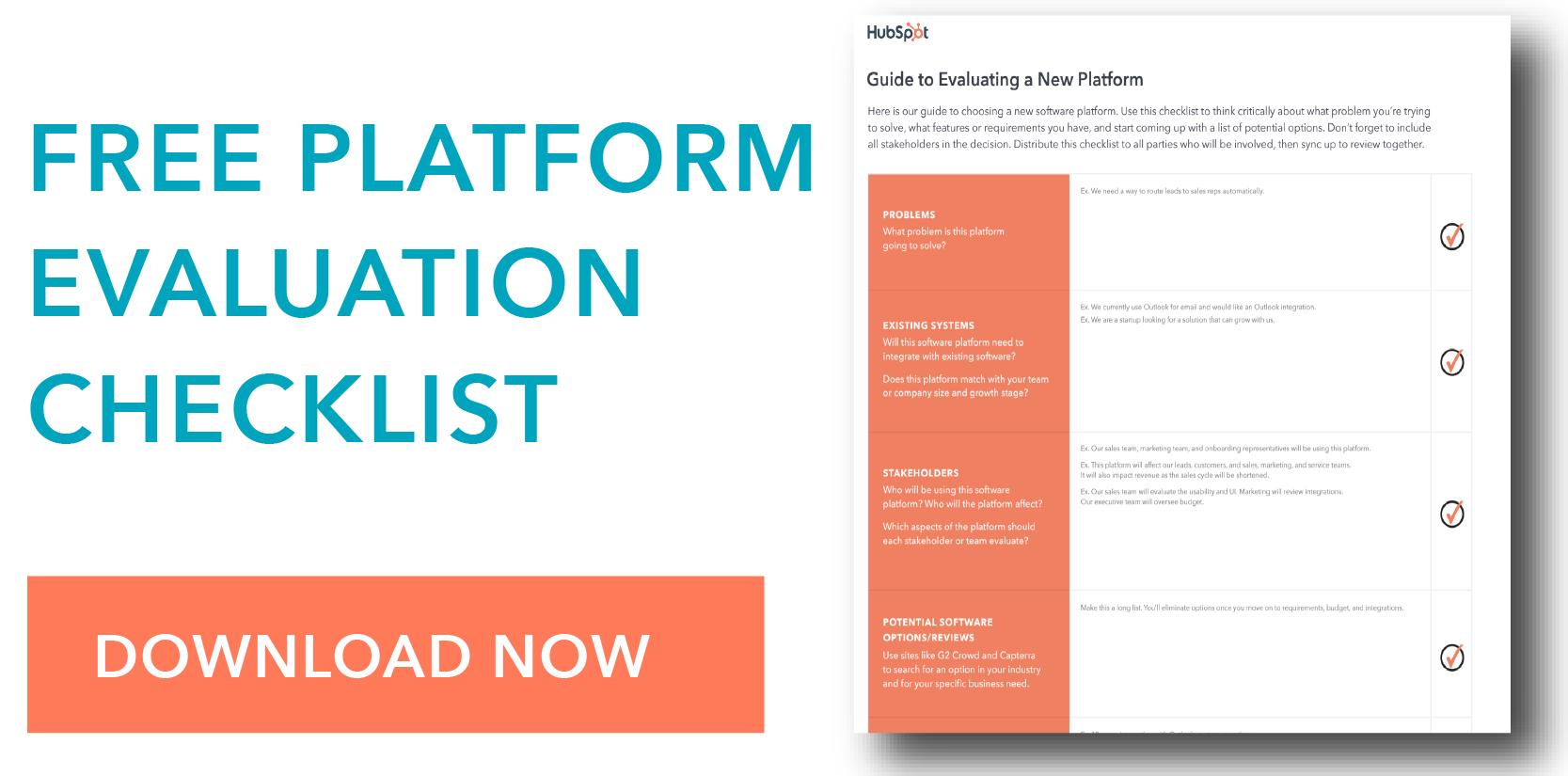 platform evaluation